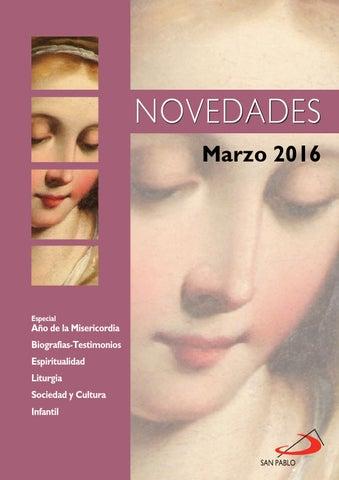 Boletín de Novedades Editorial San Pablo España - Marzo 2016