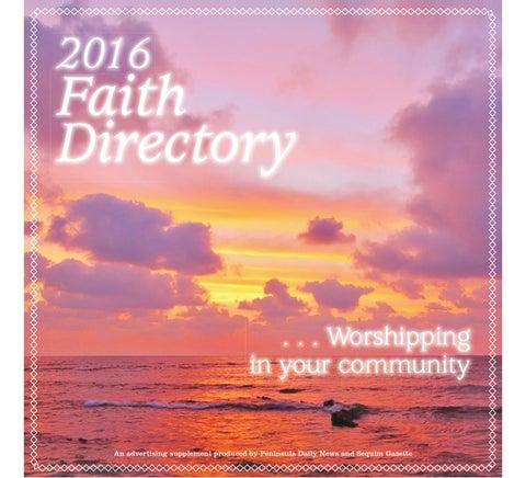 2016 Faith Directory