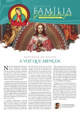 [Informativo Família Guadalupe – 3ª Edição]