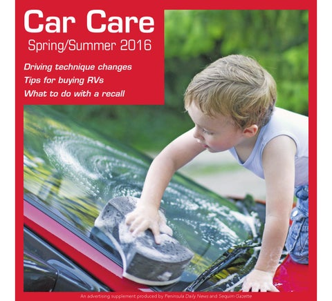 Spring/Summer 2016 Car Care