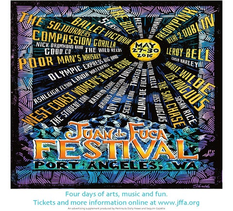 Juan de Fuca Festival of the Arts 2016