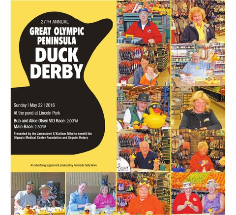 Great Olympic Peninsula Duck Derby 2016