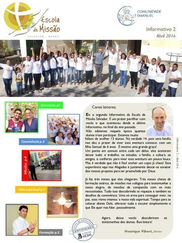 [Informativo Escola da Missão nº2 (abril/2016)]