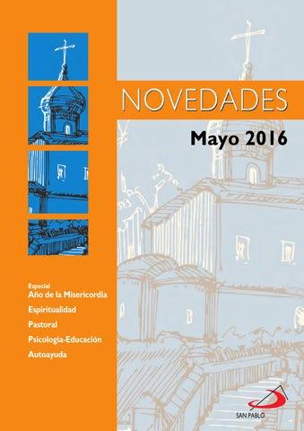 Boletín de Novedades Editorial San Pablo España - Mayo 2016