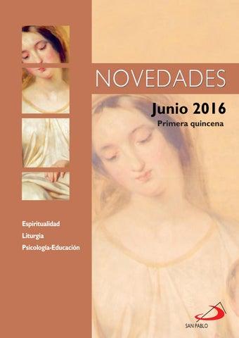 Boletín de Novedades Editorial San Pablo España - Junio 2016 (1ª quincena)