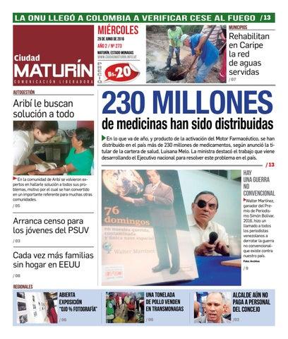 Ciudad Maturín edición 273