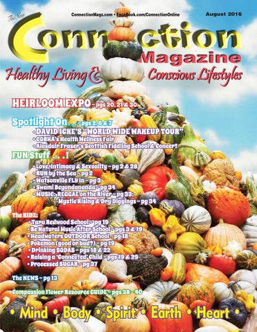 Connection Magazine August 2016 Issue