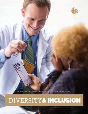2015 College of Medicine Diversity and Inclusion Annual Report