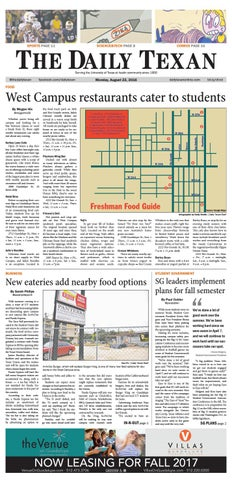 Issue for August 22, 2016