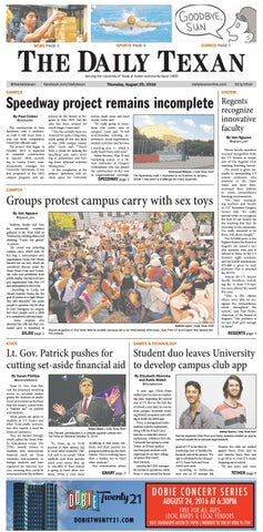 Issue for August 25, 2016