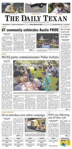 Issue for August 26, 2016