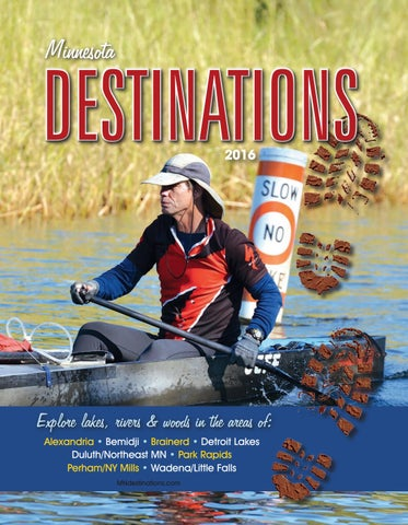 Minnesota Destinations - Adventures in Travel 2016 - Travel Guide Cover