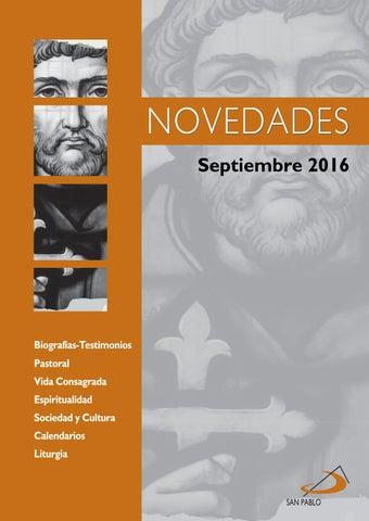 Boletín de Novedades Editorial San Pablo España - Septiembre 2016
