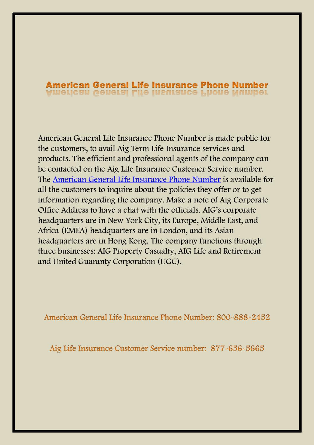 American General Life Insurance Quote Direct General Customer Service  Gse.bookbinder.co