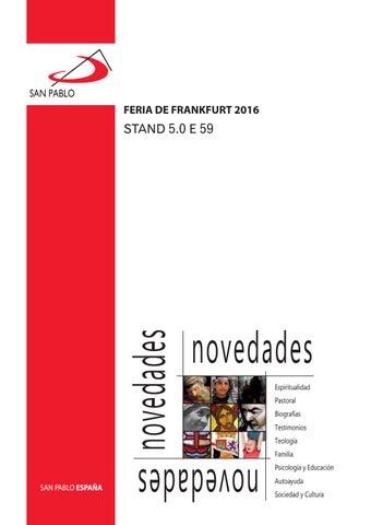 Catálogo Feria del Libro de Frankfurt 2016