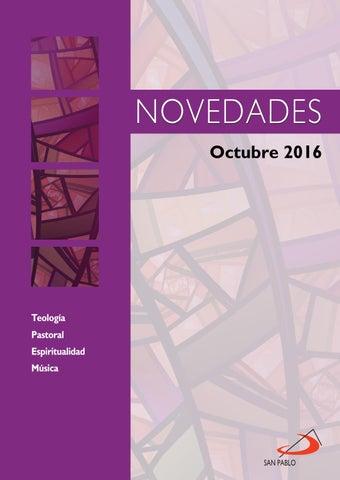 Boletín de Novedades Editorial San Pablo España - Octubre 2016