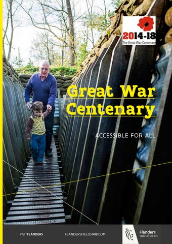 Great War Centenary 2014-18. Accessible to everyone