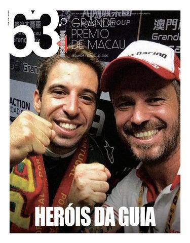 63.º GP Macau #3 - 21/11/2016