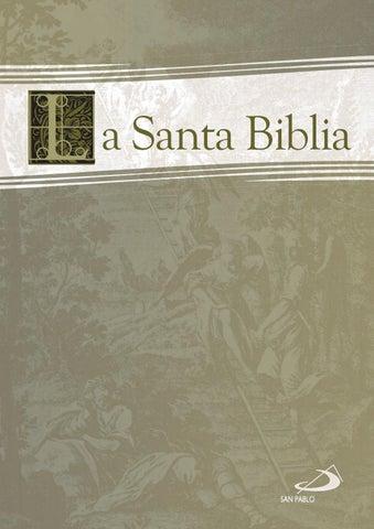 La Santa Biblia en SAN PABLO