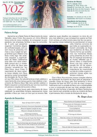 [Jornal Santa Rosa de Lima – Dezembro/2016]