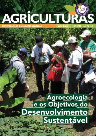V13, N3 – Agroecologia e os Objetivos do Desenvolvimento Sustentável