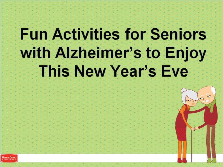 Fun activities for senior adults