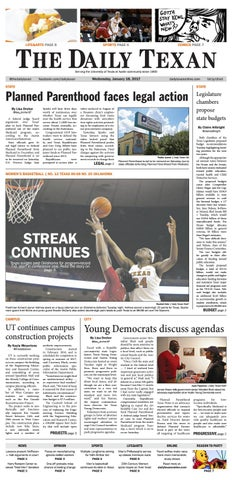 Issue for January 18, 2017
