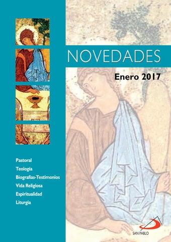 Boletín de novedades Editorial San Pablo España - Enero 2017