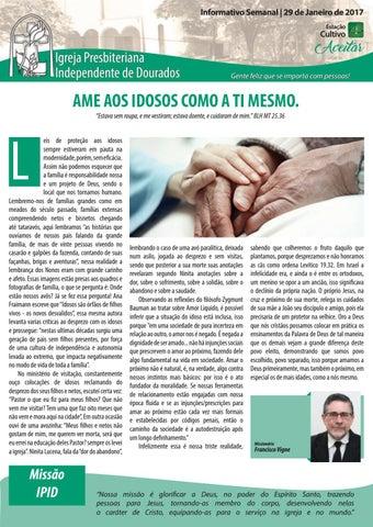 Boletim Informativo IPID 29 de Janeiro de 2017