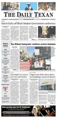 Issue for February 17, 2017