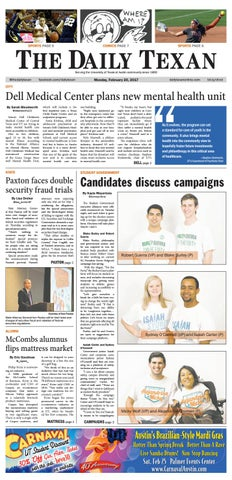 Issue for February 20, 2017