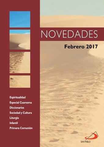 Boletín de Novedades Editorial San Pablo España - Febrero 2017