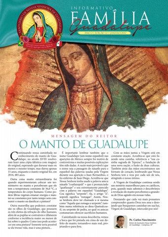 [Informativo Família Guadalupe – 12ª Edição]