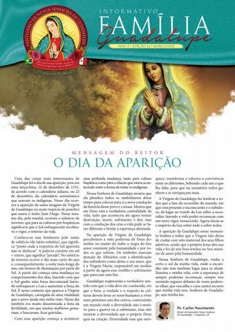 [Informativo Família Guadalupe – 14ª Edição]