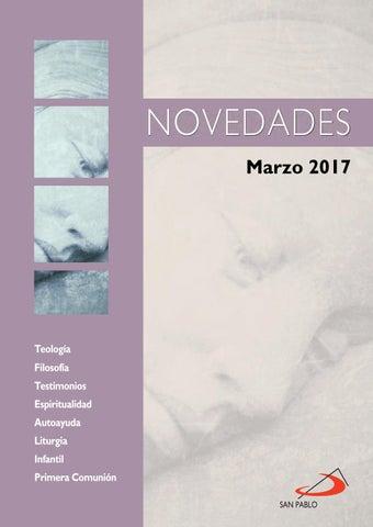 Boletín de Novedades Editorial San Pablo España - Marzo 2017
