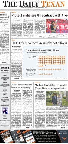 Issue for April 25, 2017