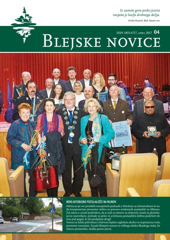 Blejske novice april 2017