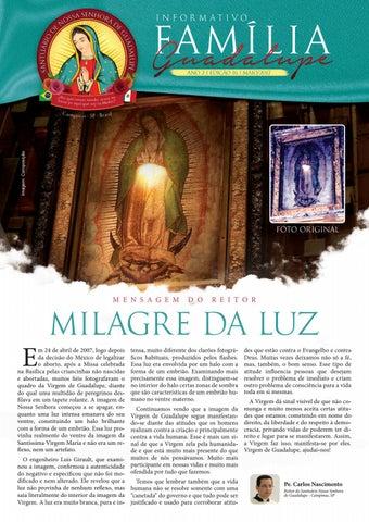 [Informativo Família Guadalupe – 16ª Edição]