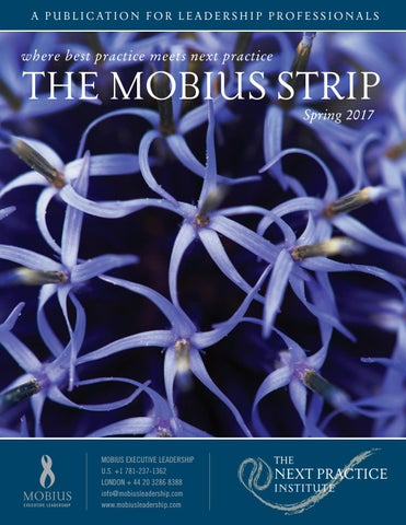 The Mobius Strip Spring 2017