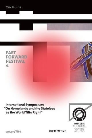 "ISSUU FFF4 | International Symposium: ""On Homelands and the Stateless as the World Tilts Right"""