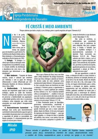 Boletim Informativo IPID 11 de junho 2017