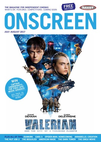 ONSCREEN Magazine July/August 2017