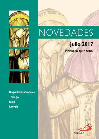 Boletín de novedades julio 2017 - 1ª quincena