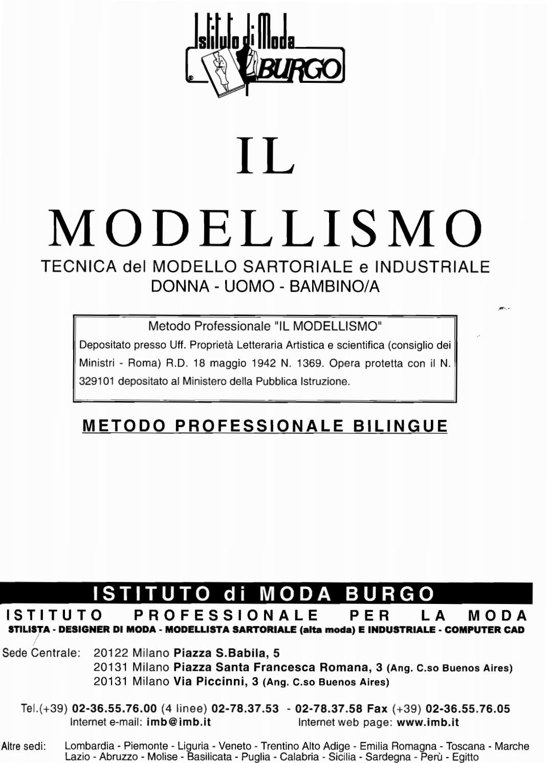 il modellismo sartoriale burgo pdf