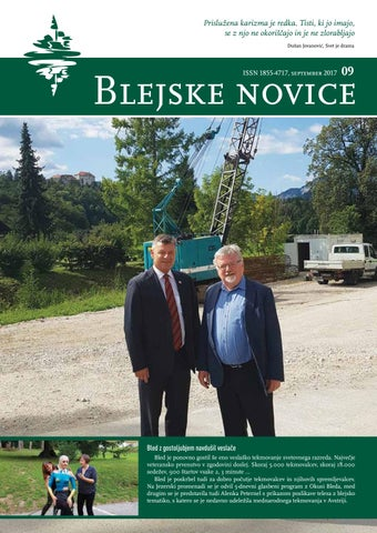 Blejske novice september 2017