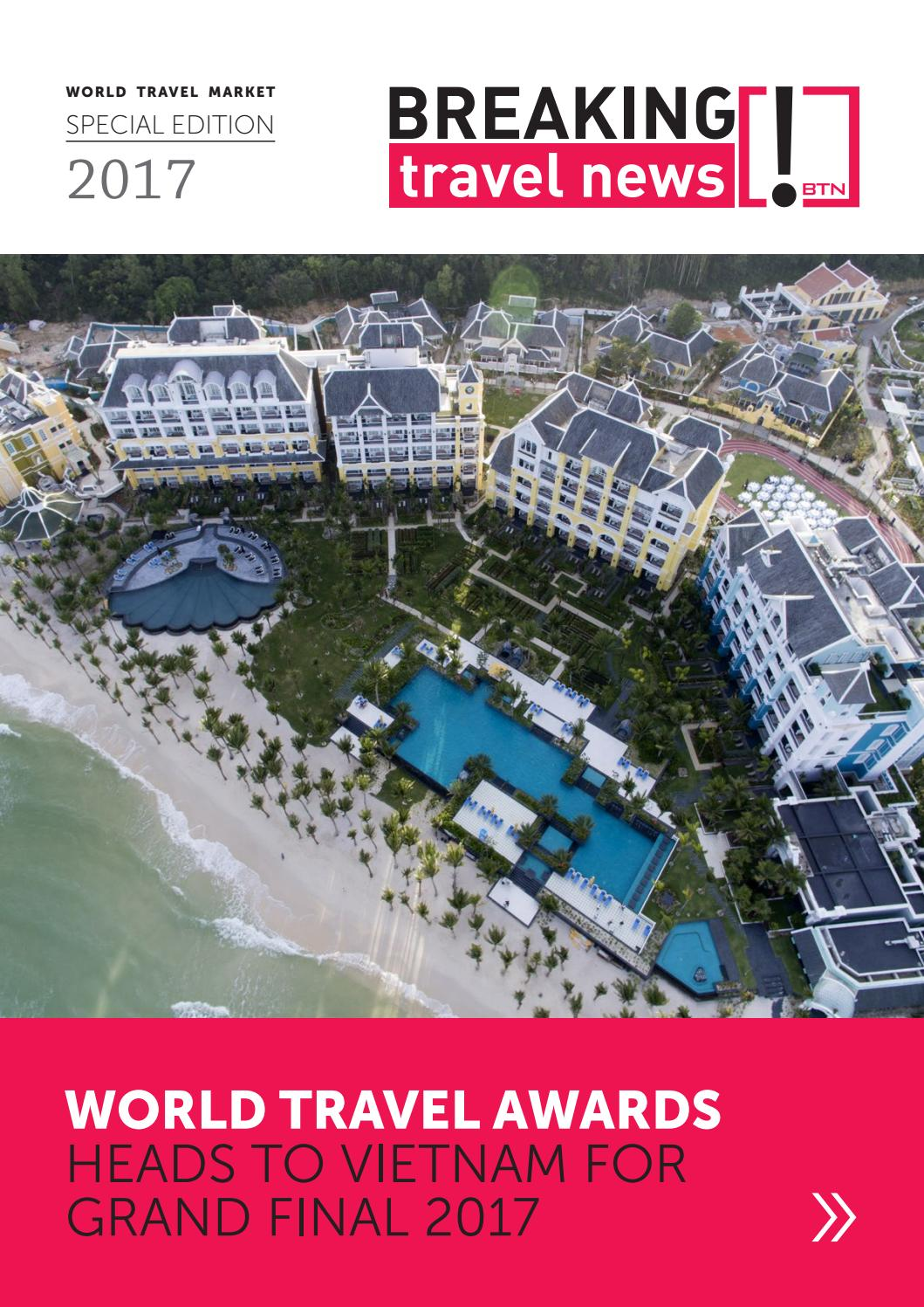 Publications: Breaking Travel News Special Edition - World Travel Market 2017