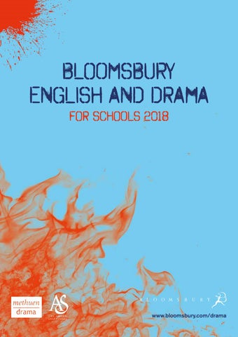 English and Drama for Schools Catalogue 2018 cover