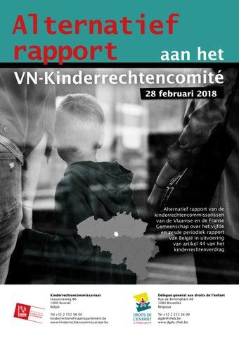 Alternatief rapport aan het VN-Kinderrechtencomité