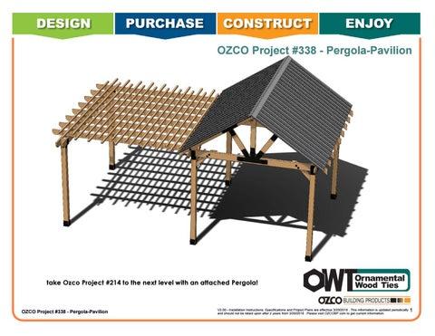 OZCO Project #338 Pergola Pavilion