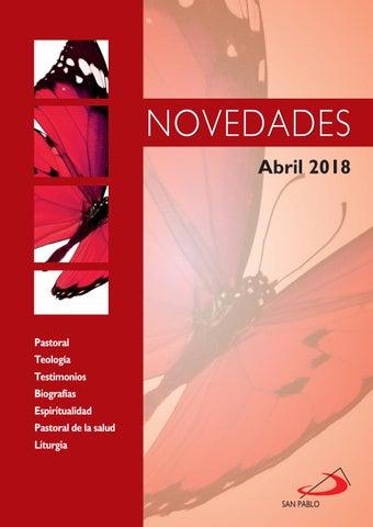 Boletín de novedades abril 2018